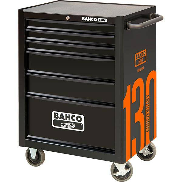 """BAHCO 26"""" 6 Drawer Tool Trolley c/w 212 tools 